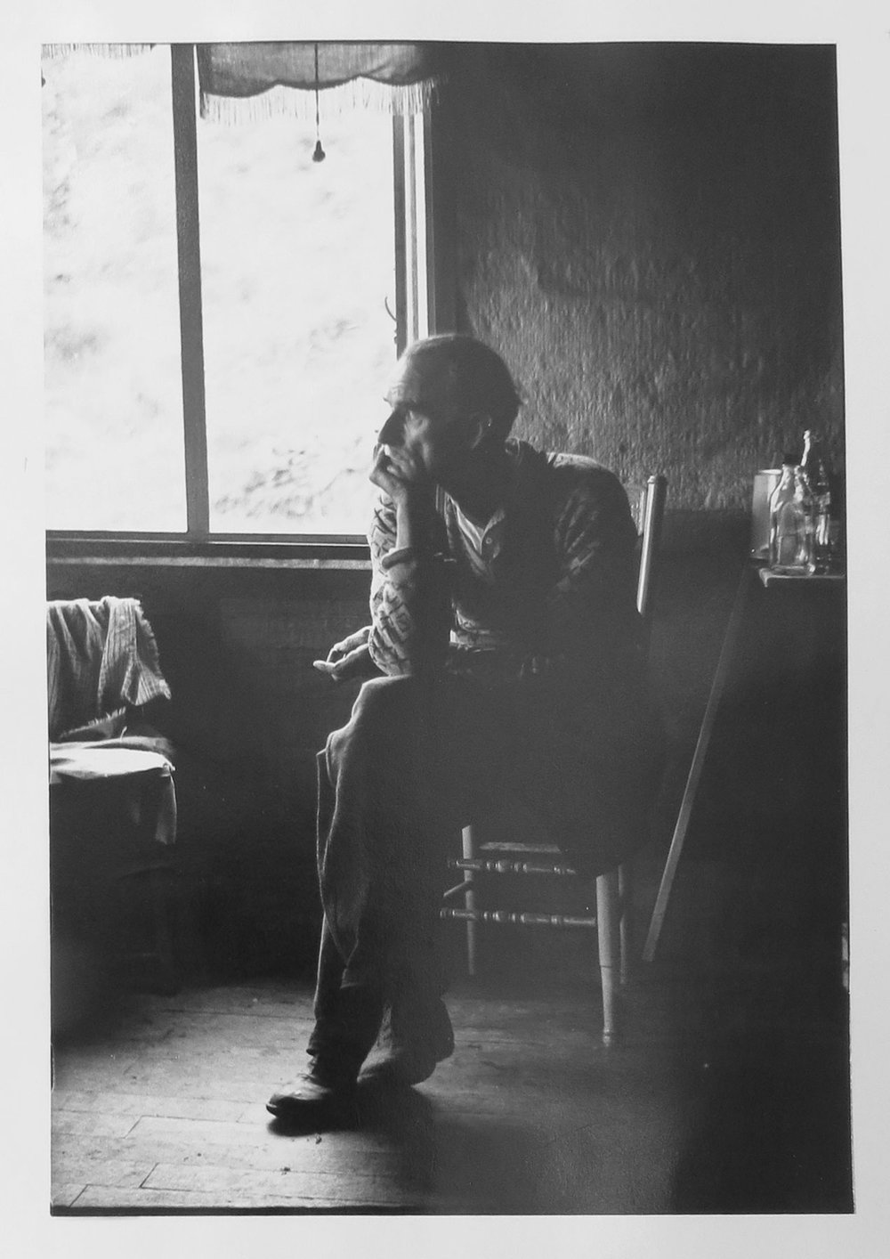 7. Richard Woldendorp, 'Mr Adams, Gosnells WA', BW245, taken and printed in 1963, Vintage Print