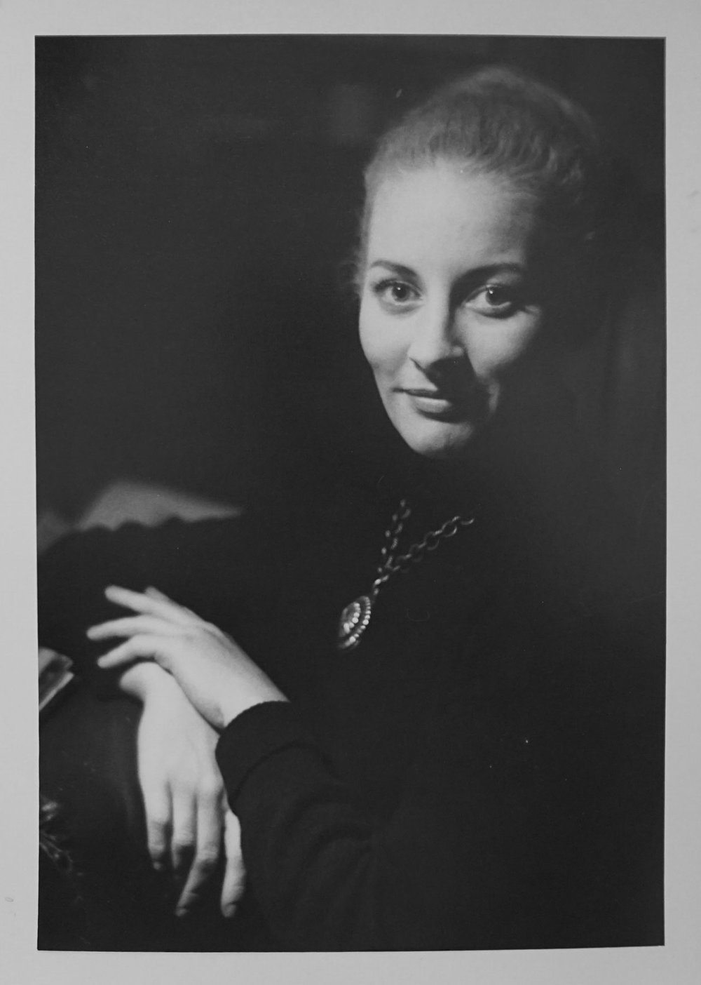 20. Richard Woldendorp, 'Woman, Perth WA', BW35a, taken and printed in 1961, Vintage Print, 1st Prize 1961 Craven 'A' National Portrait Competition