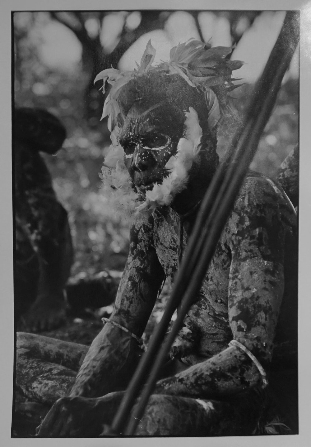 25. Richard Woldendorp, 'Tribesman, Northern Territory', BW151, taken and printed in c.1970, Vintage Print