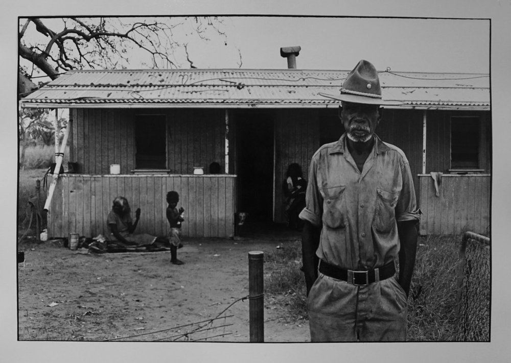 29. Richard Woldendorp, 'Tracker, Broome WA', BW74, taken and printed in 1965 , Vintage Print