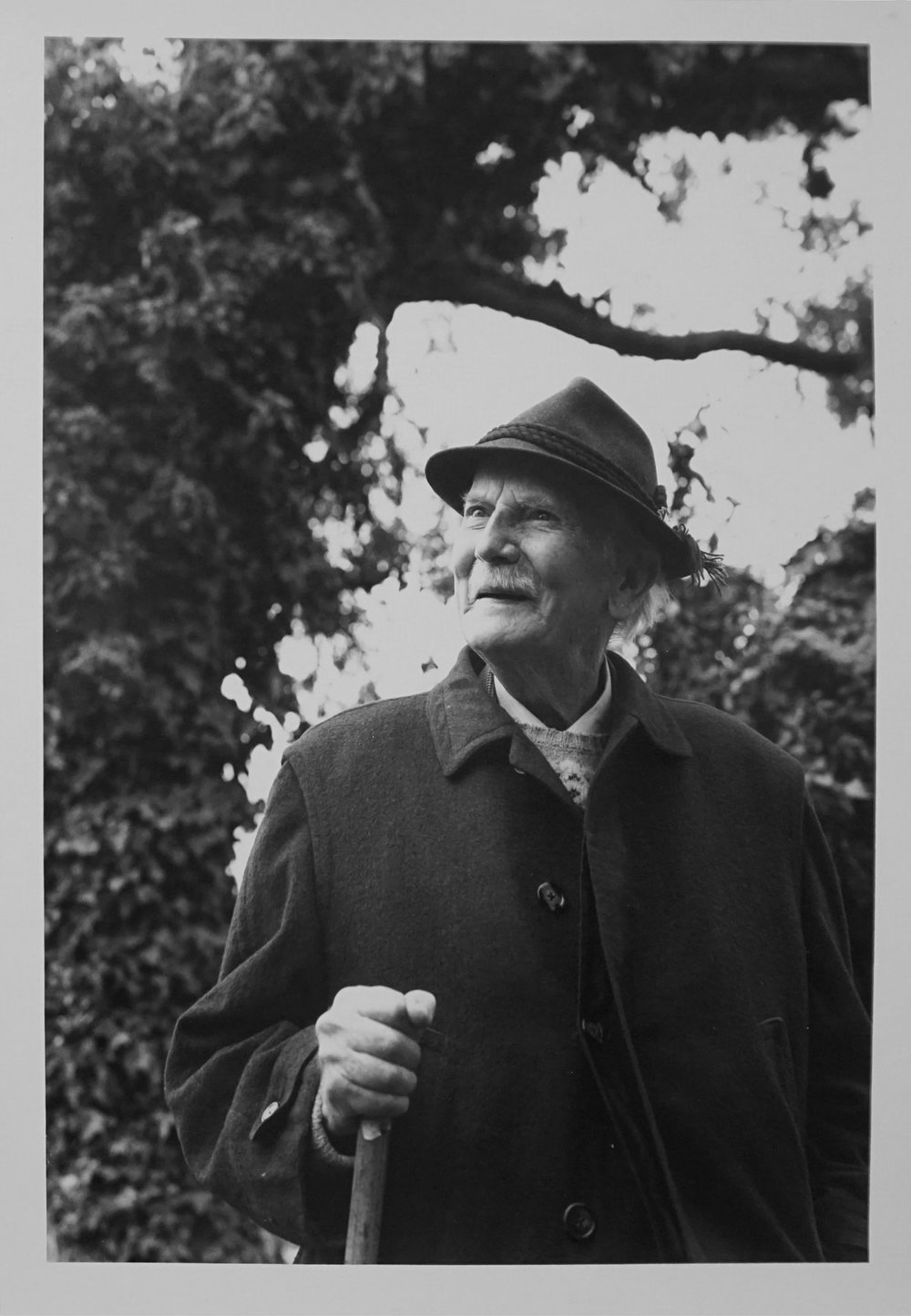 63. Richard Woldendorp, 'Richard St Barbe Baker, Hazelmere WA', taken and printed in c.1979, Vintage Print