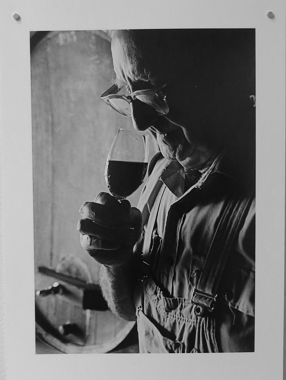 64. Richard Woldendorp, 'Jack Mann, Houghton Vineyard, Swan Valley WA', BW373, taken in c.1970, printed in 2018