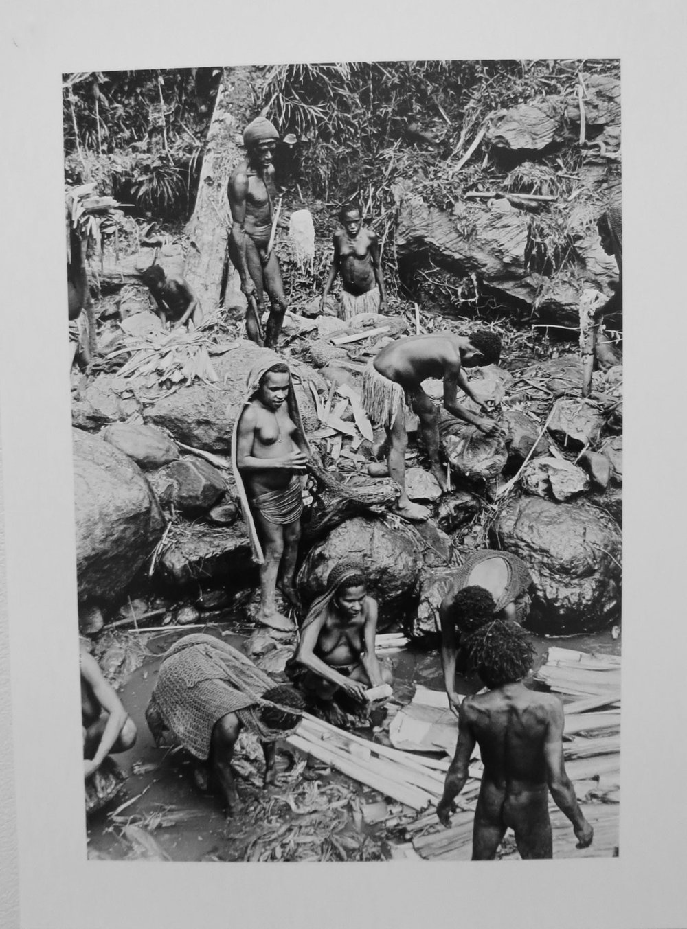 75. Richard Woldendorp, 'Making Salt, West Irian Jaya, Indonesia', BW203b, taken and printed in 1971, Vintage Print