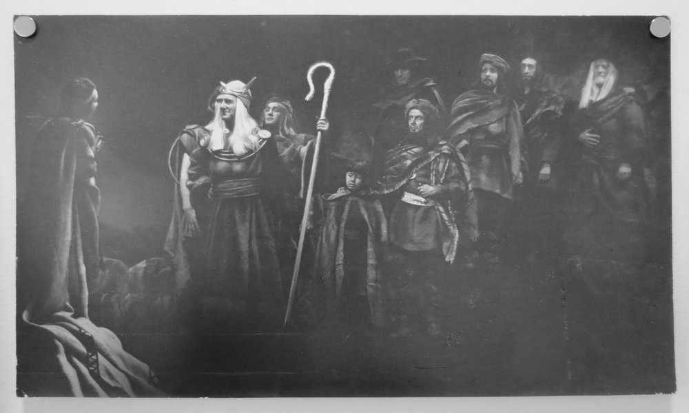 79. Richard Woldendorp, 'Performance of Macbeth, Playhouse Theatre, Perth WA', BW328, taken and printed in 1965, Vintage Print