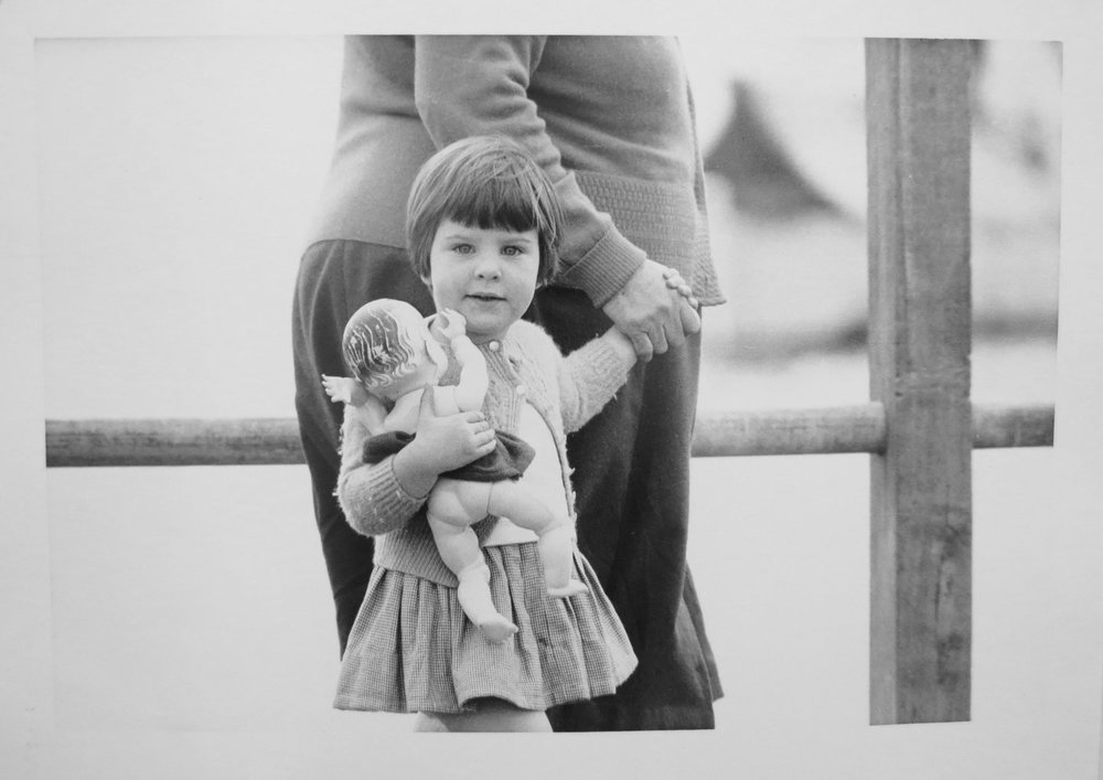 81. Richard Woldendorp, 'Grandmother and Child, Crawley WA', BW17, taken in 1959, printed in 2012