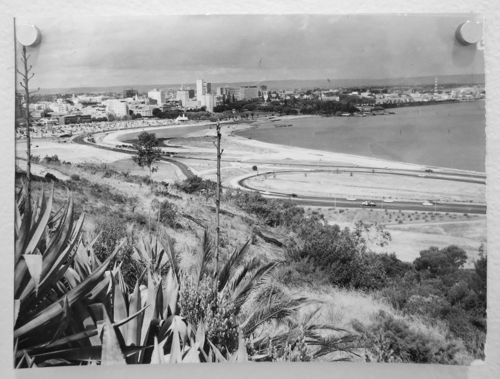 85. Richard Woldendorp, 'Perth City from Kings Park Perth WA', taken and printed in c.1959, Vintage Print