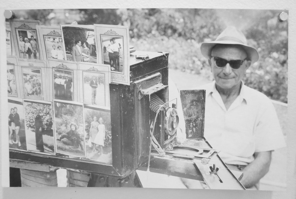 84. Richard Woldendorp, 'Portrait Photographer, Supreme Court Gardens, Perth WA', taken and printed in 1956, Vintage Print