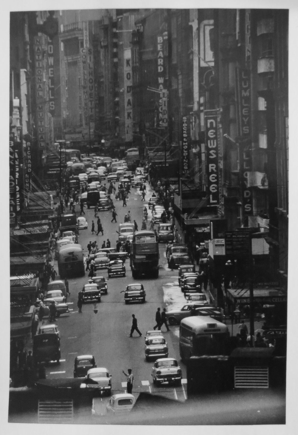 91. Richard Woldendorp, 'Cityscape, Sydney NSW', BW180, taken in 1961, printed in 2013