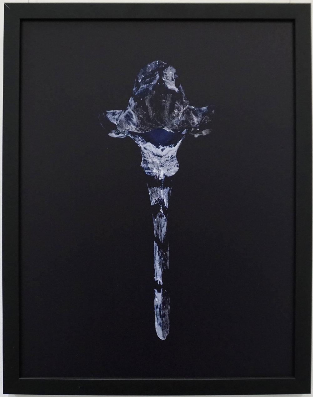10. Stephanie Reisch, The Empress, 2015, pigment on gesso panel, 35 x 45 cm, $400