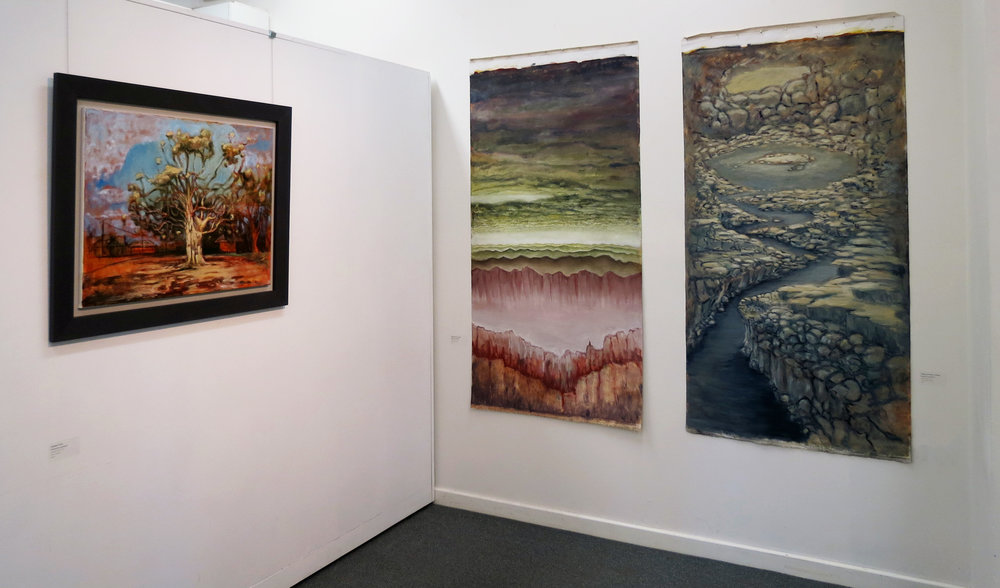 Harrison See, The Physical Mindfulness of Painting - Installation View, MAC, May 2018