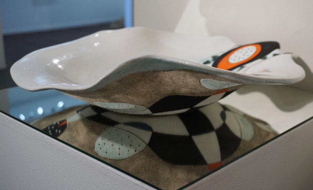18. Rodney Blumenfeld,  Volcanic Ash,  Earthernware clay $385