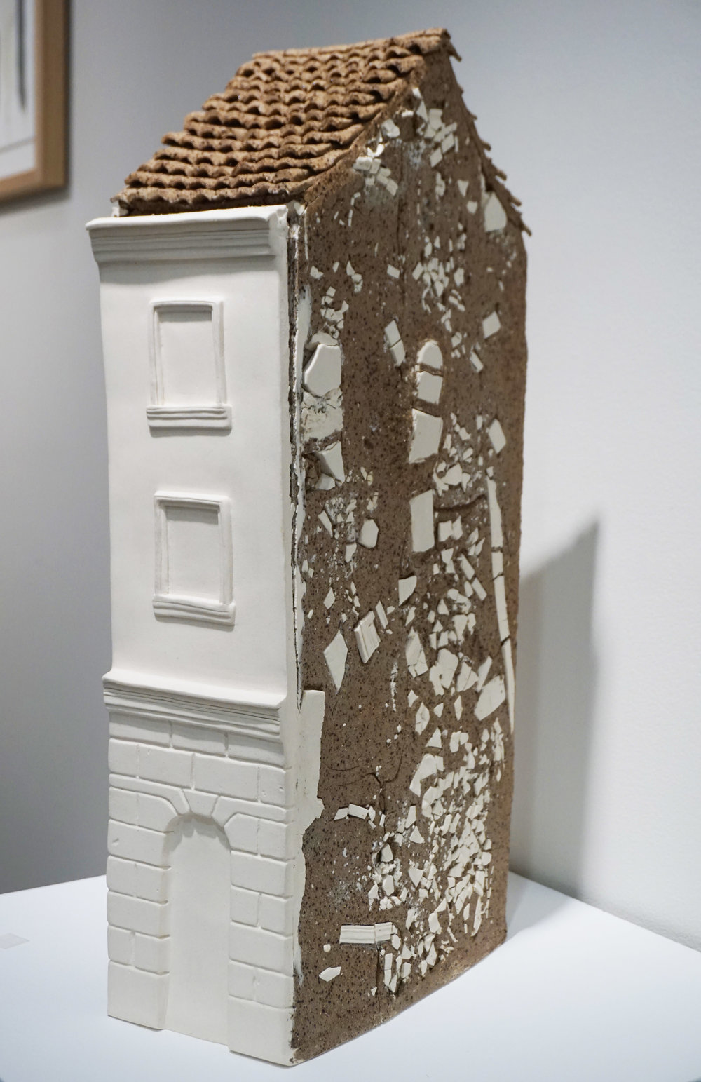 19. Emma Vinkovic, Old Town Relic, High-fired raku and stoneware clay $480