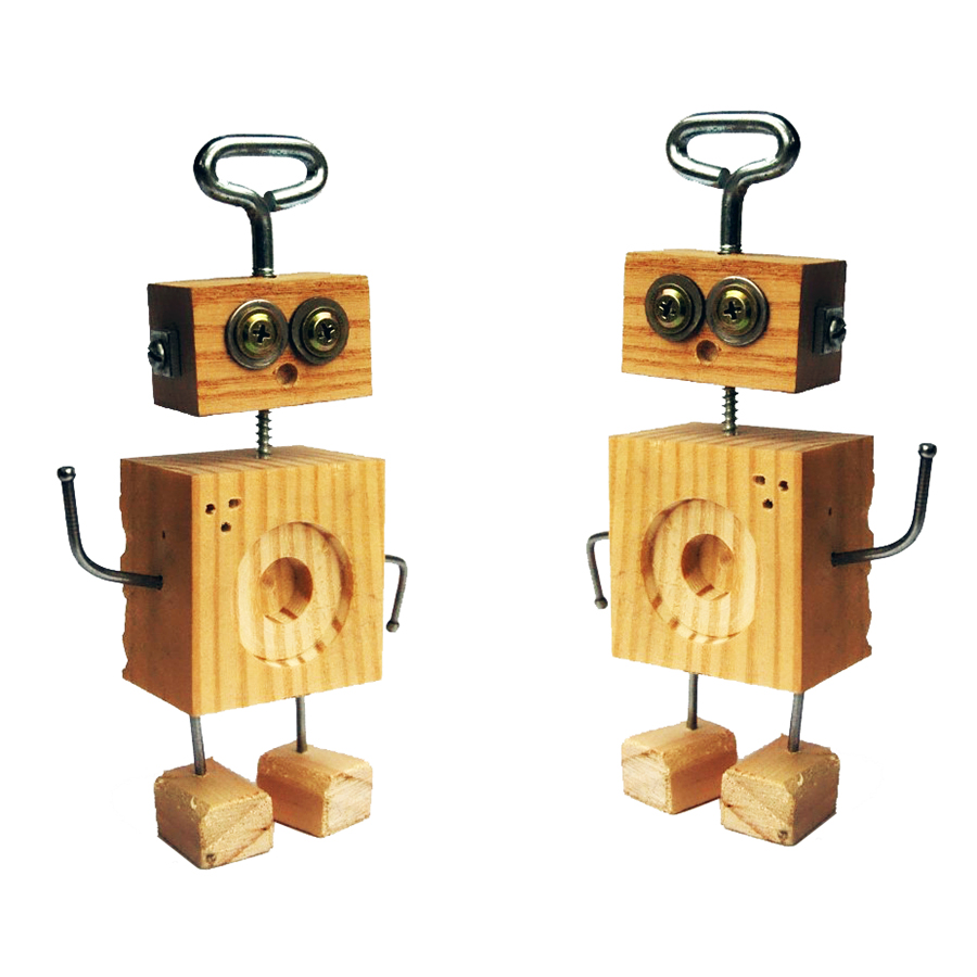 ROBOT INVASION WOODWORKING - Let your imagination run wild in this educational and easy-to-follow woodworking workshop with Tracey Laird. Participants will use hammers, screwdrivers, drills and saws to create robot beings from wood scraps and various other materials.10.30am - 12pm6 - 10 yrs $20 | $18 MAC MembersMaterials supplied