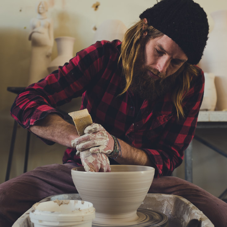 Large scale ceramics demonstration - Lee Woodcock is working in residence at MJAC all week in the lead up to Open Day. Learn about the process of construction as he demonstrates the use of unique tools building a pot over 2 metres in size.11am - 2pmFREE