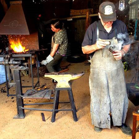 The Art of Blacksmithing - Master Blacksmith Brian showcases his skills alongside his apprentice, artist Rachel Wyder. Utilising a charcoal forge and the ancient skill of shaping molten metal these artisans will share their skills and knowledge throughout the day.11am - 3pmFREE