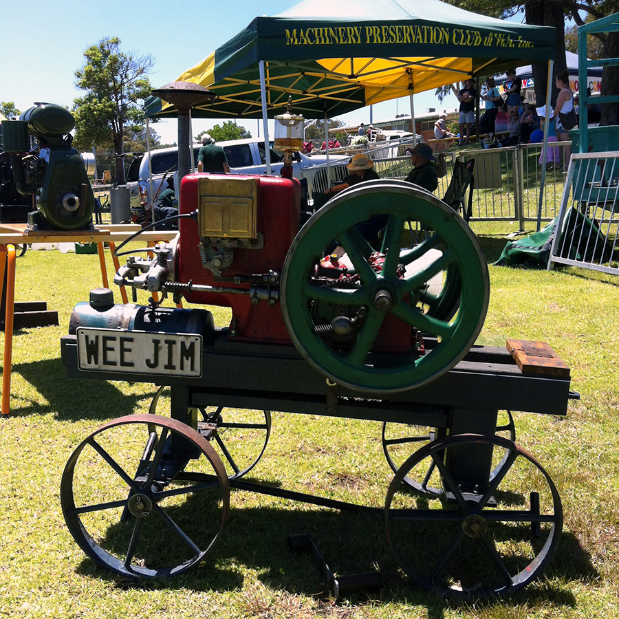 Clamp Down - Learn about marvellous hand tools and steam engines with the members of the Men's Shed, Machine Preservation Society, Fine Woodwork Association, Perth Wood School and Hand Tool Preservation Society of WA as they show their wares and chat with visitors about their respective clubs.11am - 3pmFREE