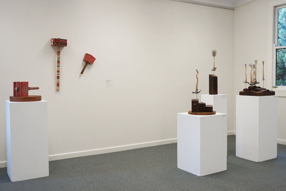 Peter Hill installation view