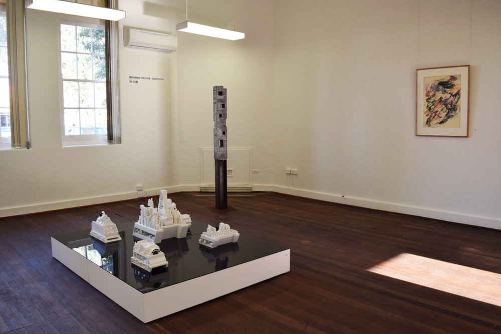 Remembering Tomorrow  exhibition view