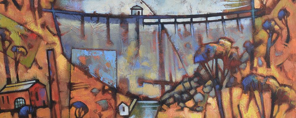 WB_Malcolm Lindsay, The Weir, 2018, acrylic on canvas, 106 x 81 x 4 cm.jpg