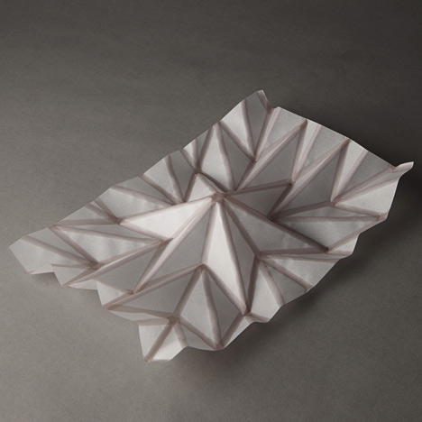 Origami Architecture and Self-Assembly — Concept Cartel
