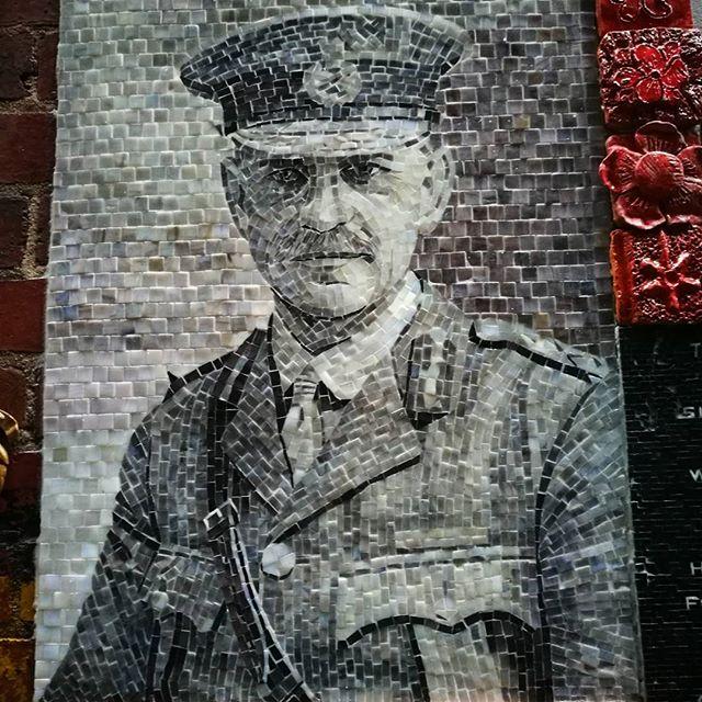 Found in Melbourne CBD #Melbourne #streetart #mosaic