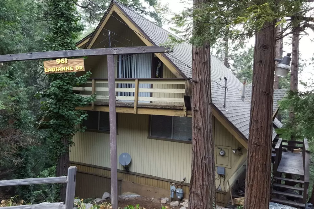 We have to find another cabin for exterior shots