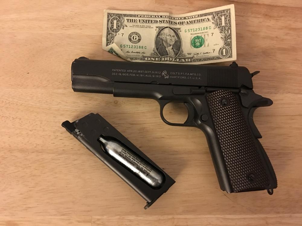 Freddie's gun