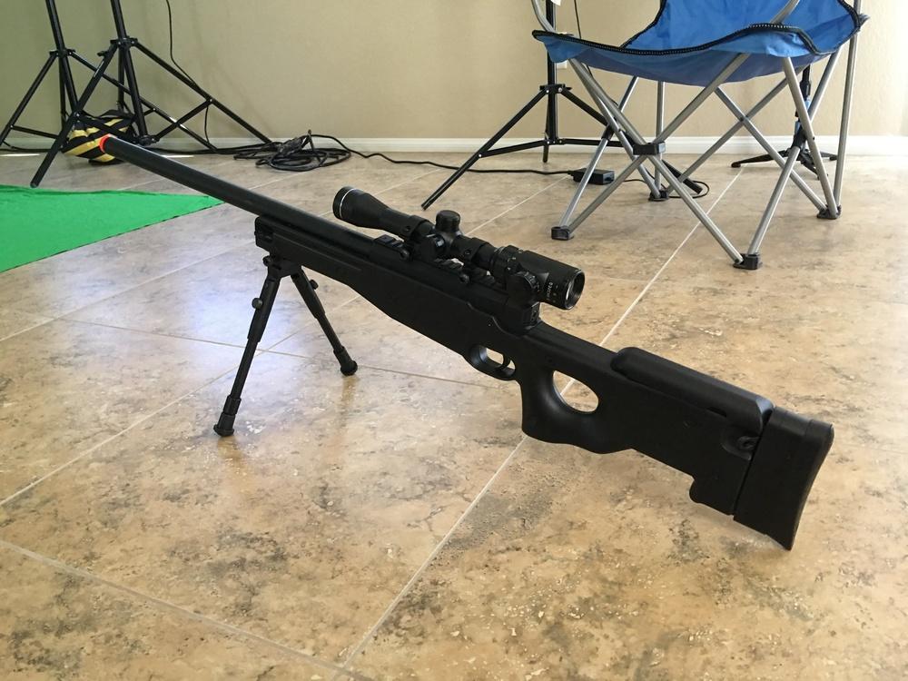 Lauren's Sniper Rifle