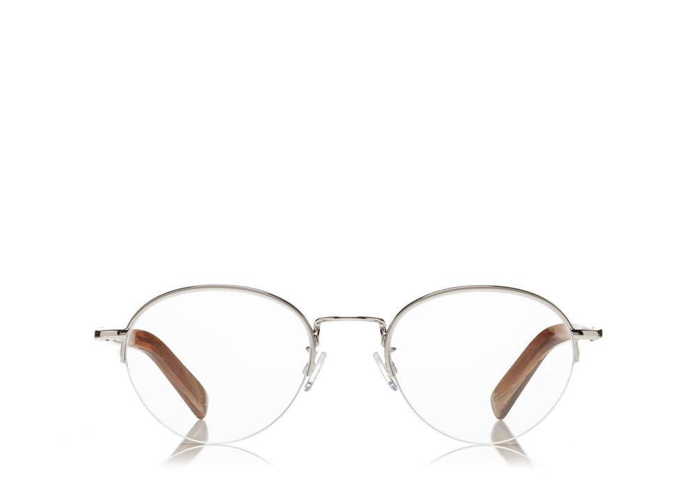 Tom Ford Semi-Rimless Round Optical Frame Glasses.jpg