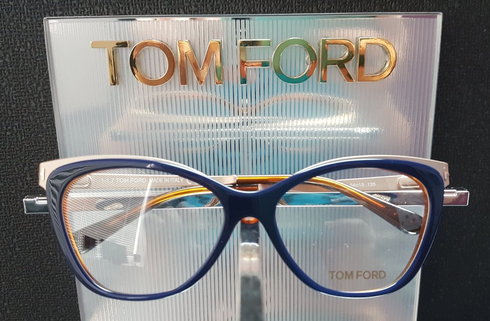 Tom Ford - Tom Ford was born and raised in the United States and graduated from a New York design school with a degree in architecture. He has worked for fashion design companies like Gucci and Yves Saint Laurent before launching his own lines of clothing, accessories, and eyewear. Tom Ford has been recognized for numerous awards in design, fashion, and even directing. This line of eyewear boasts quality frames, bold colors, and trendy shapes.