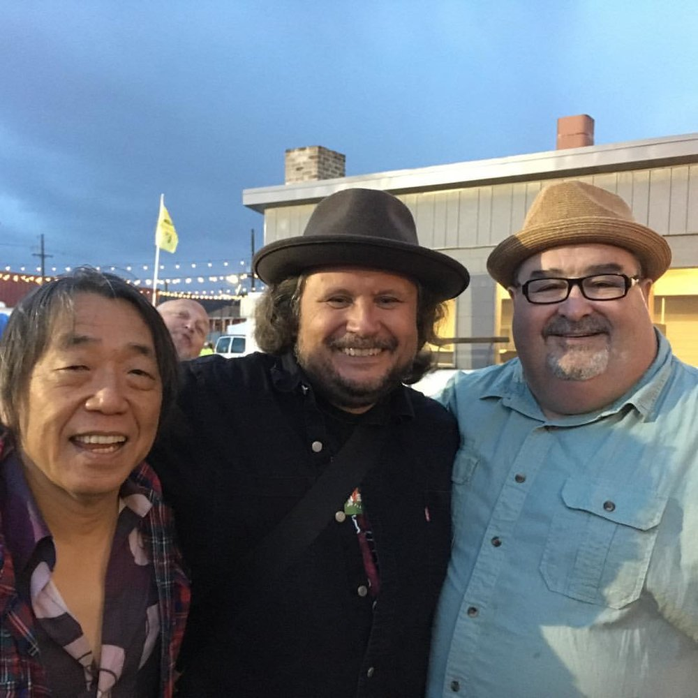 June Yamagishi, AS, John Papa Gros  NOLA may 2017
