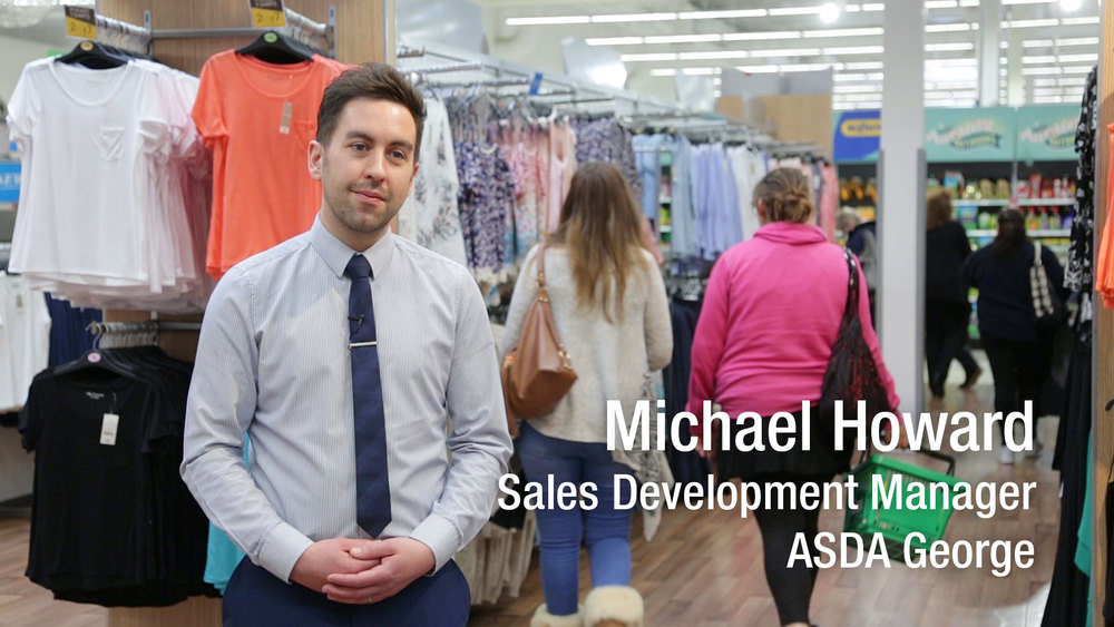 Michael Howard, Sales Development Manager, ASDA George