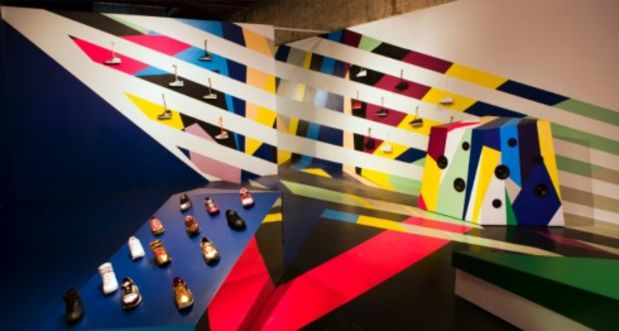 Reebok's FLASH store concept repurposed 3000 square foot of the CVZ Contemporary Art Gallery Image credit:  freshnessmag