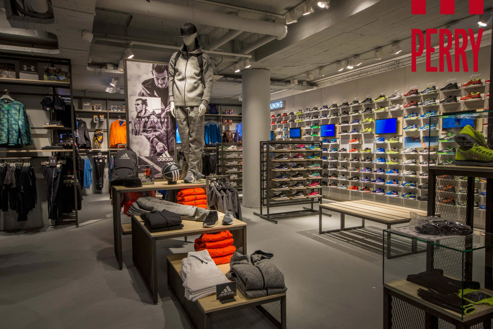 New Perry Sport Store in Amsterdam