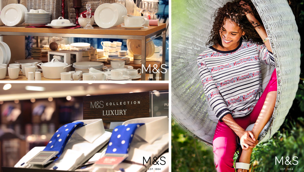 M&S, Home Products, Fashion, Retail Software Solution, Visual Merchandising retail, visual merchandising planogram software