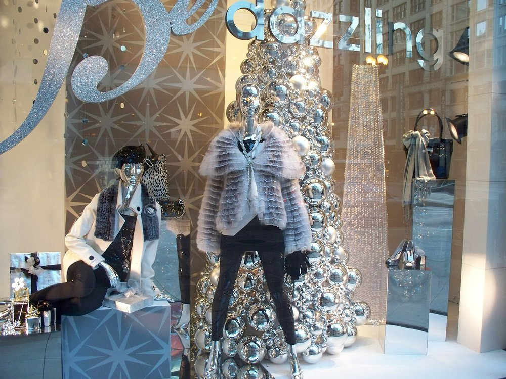 Visual Merchandising, Festive Window display