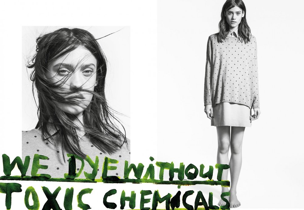 Campaign by sustainable fashion brand ArmedAngels