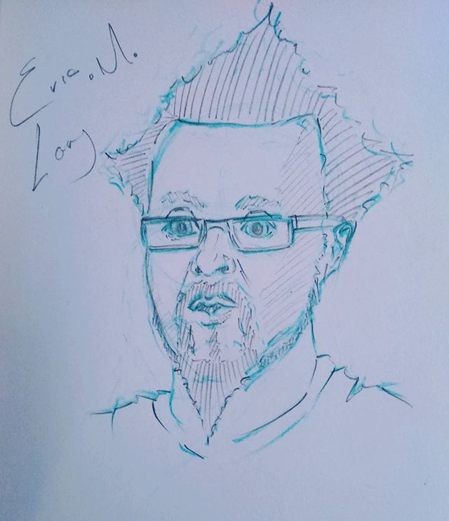 Board game wizard @eric_lang #pencilportrait #pencil #sketch #sketchbook #portrait #pencilsketch #doodle #instaart #instaartist #ericmlang #coolminiornot #cmon #boardgames
