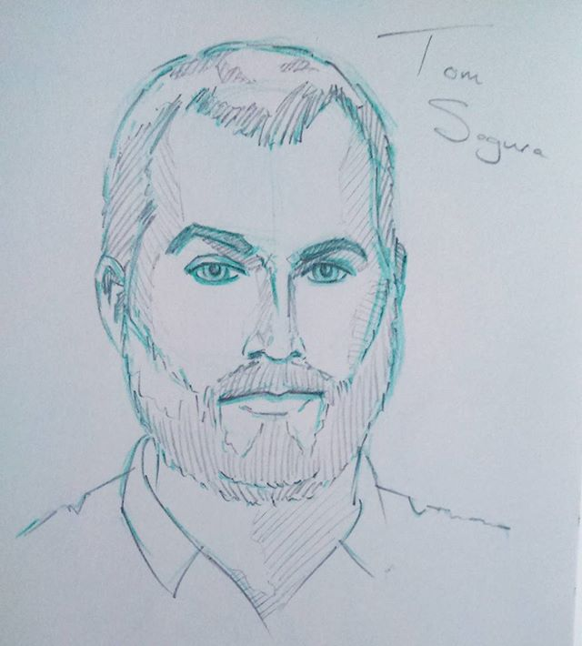 Tom Segura #pencilportrait #pencil #pencilsketch #drawing #portrait #Sundaynightscribble #doodle #sketch #sketchbook #tomsegura #standup #instaart #instaartist