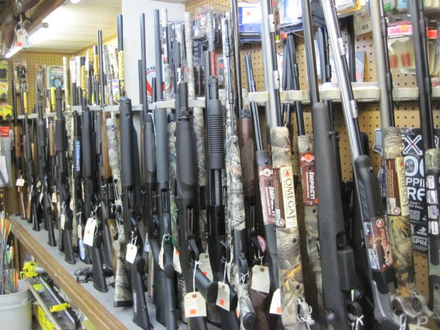 A picture of guns in Newport News, VA