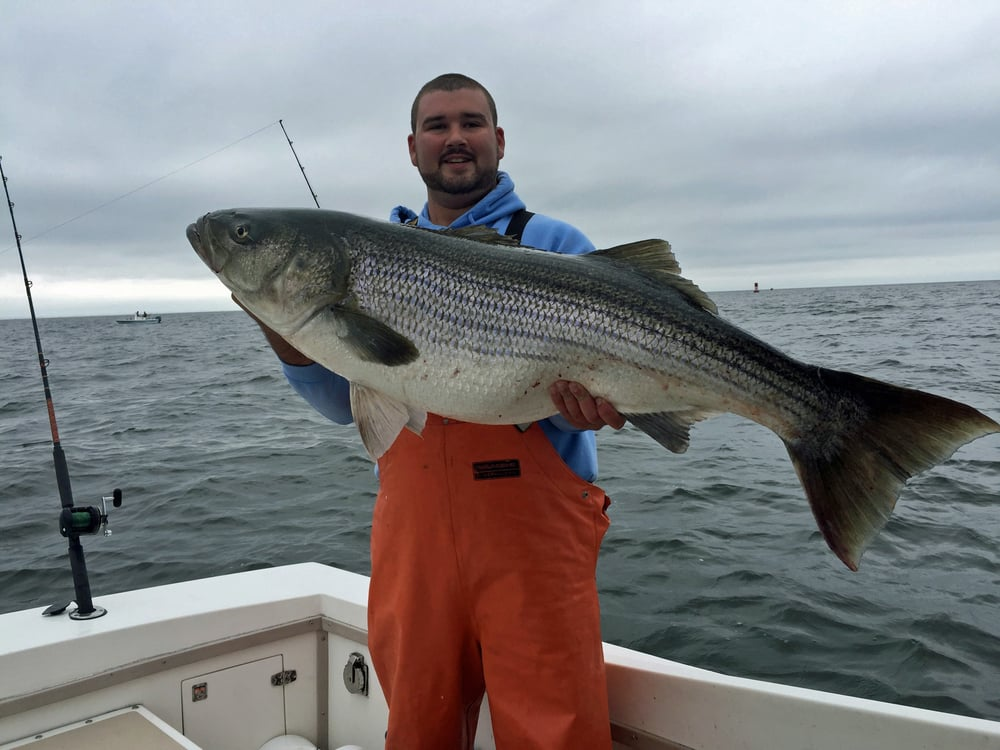 Hunter Southall weighed in a 53 pound rockfish