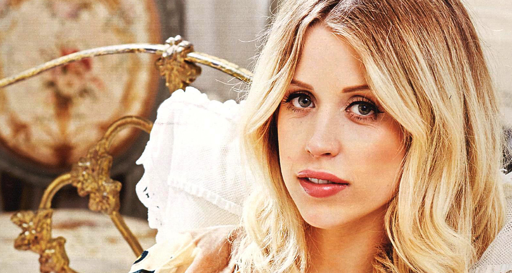 Peaches Geldof hair and make up for her new baby shoot with Phaedra shot in London