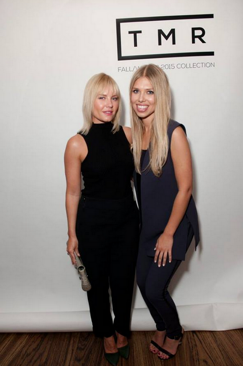 Elisha Cuthbert - Actress - at the collection launch with designer Tara Rivas for TMR Collection