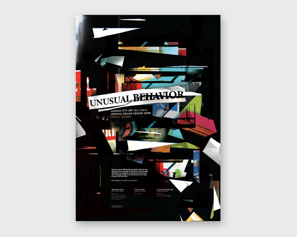Unusual Behavior Josh Lambert Graphic Design