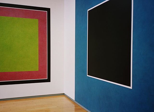 #sollewitt wall drawings and others. #35mm #olympusmjuii
