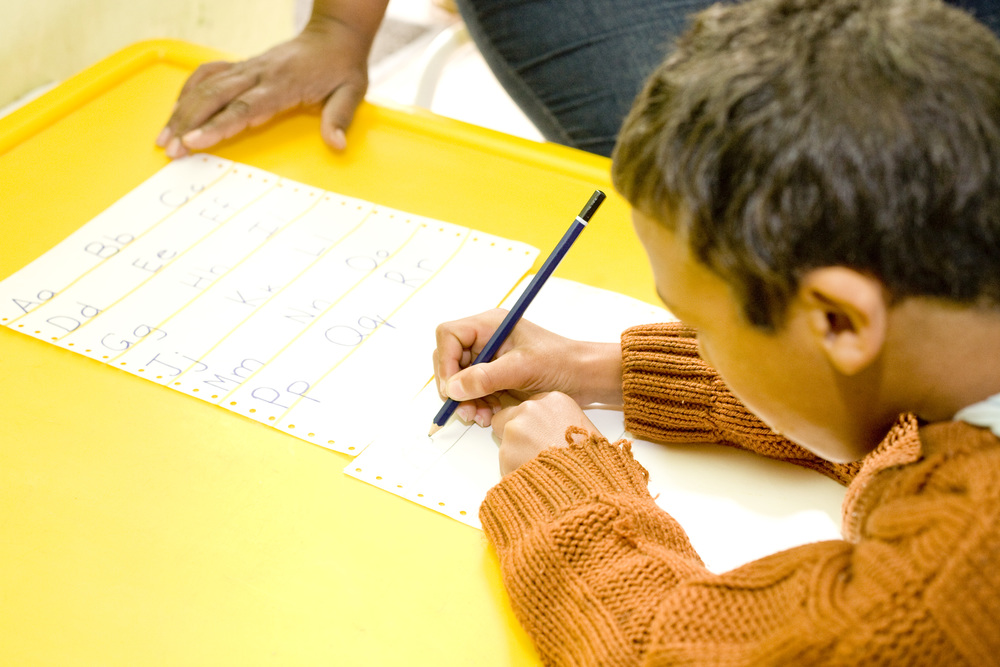 Leren schrijven