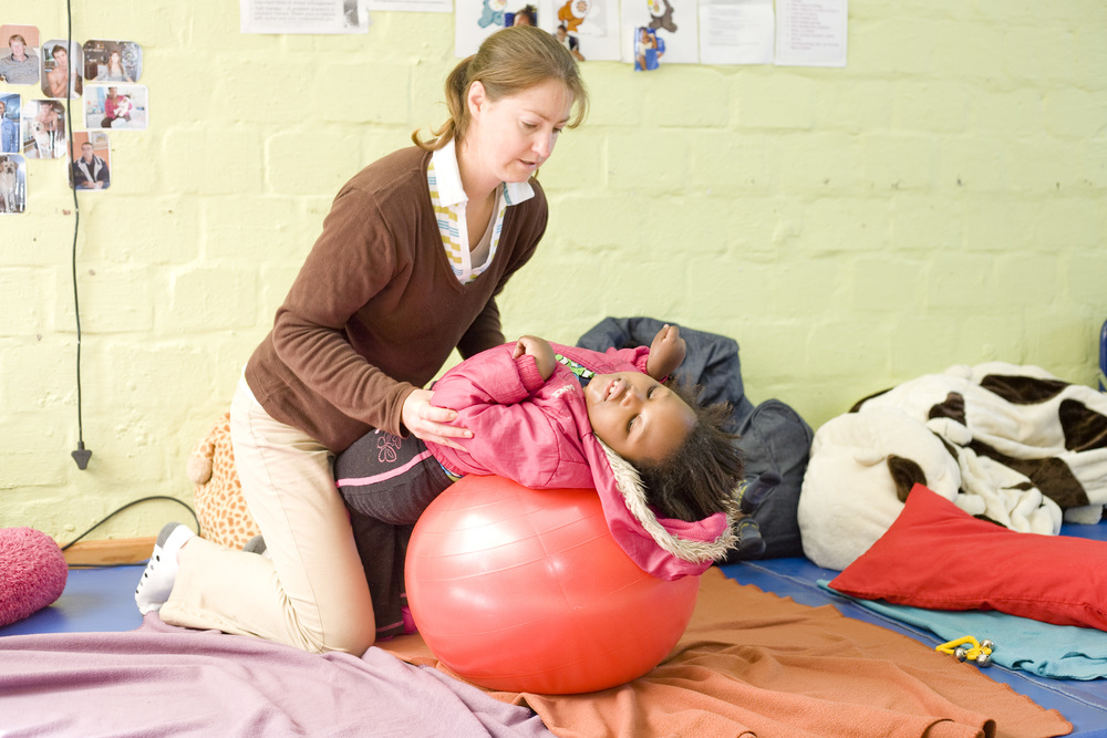 Kinesitherapie met Diane
