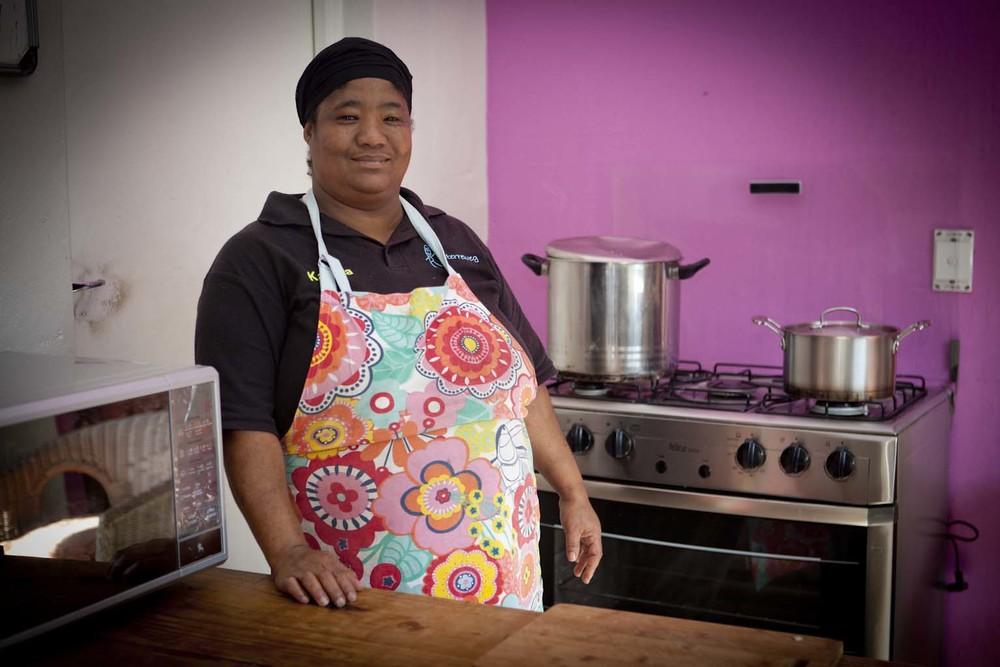 Katrina Bailey, onze rots in de brandingin de keuken sinds 2005