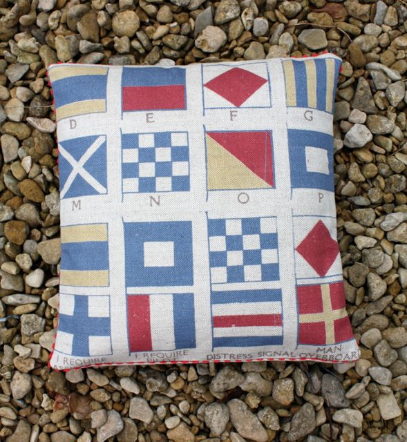 semaphore cushion from £30