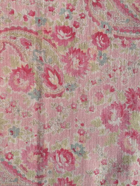 vintage paisley rose